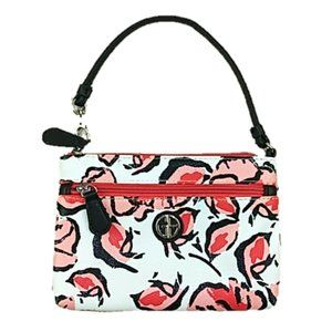 Giani Bernini Floral All-In-One Wristlet Coral